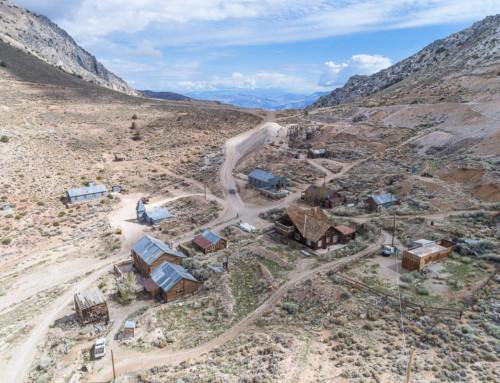Cerro Gordo Ghost Town for Sale